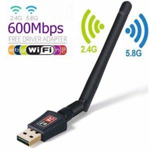 Wi-Fi Wireless Usb Adapter με Εξωτερική Κεραία
